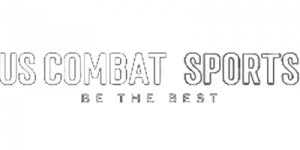 US combat sports logo in transparent background
