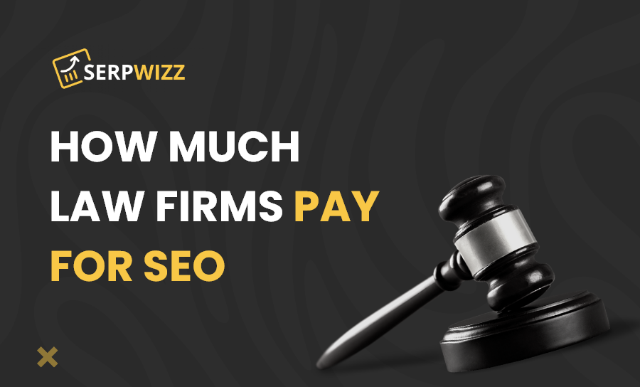 How much does the typical law firm spend in seo
