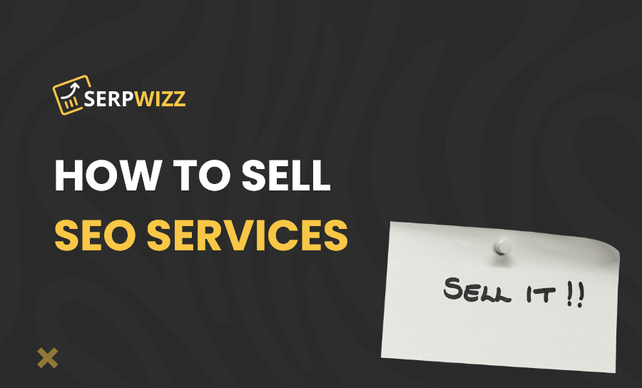 How to sell SEO services