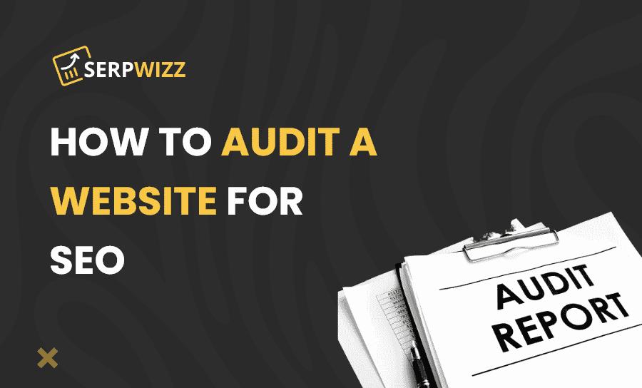 audit a website for SEO